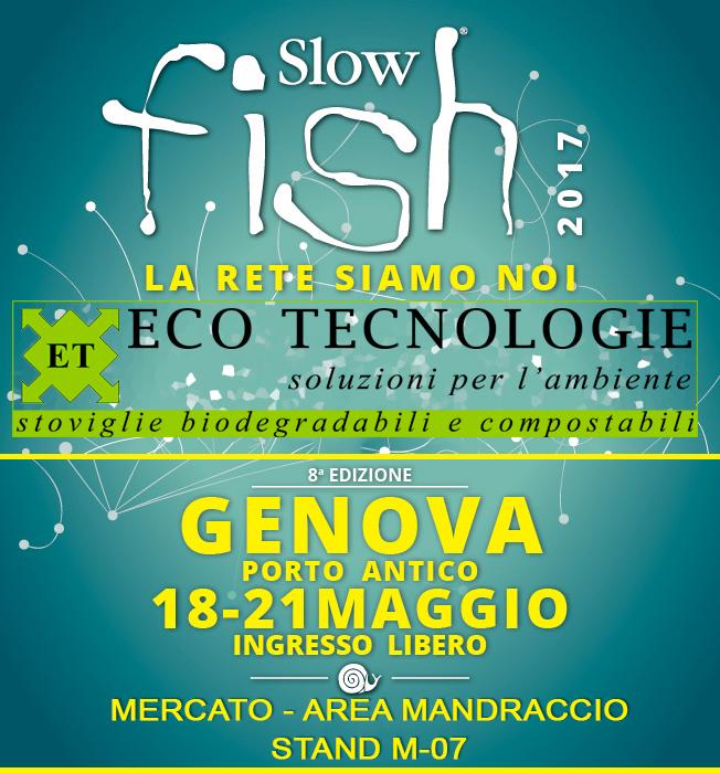Eco Tecnologie a Slow Fish di Genova, 18-21 maggio